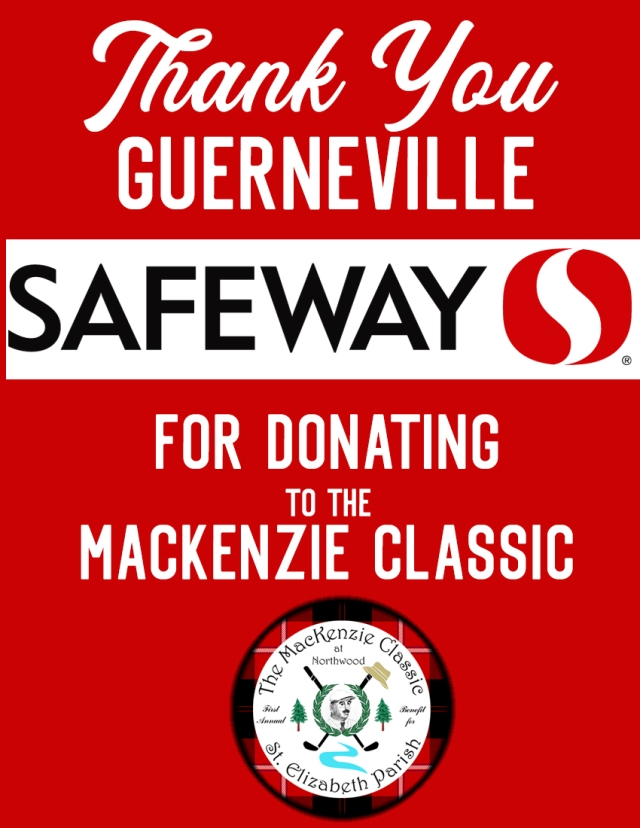 Guerneville Safeway donates to MacKenzie Classic
